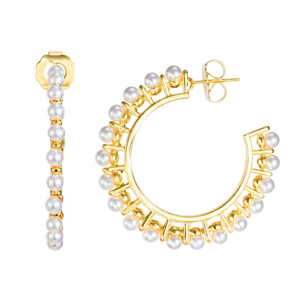 Celeste Starre Comino Earrings Gold