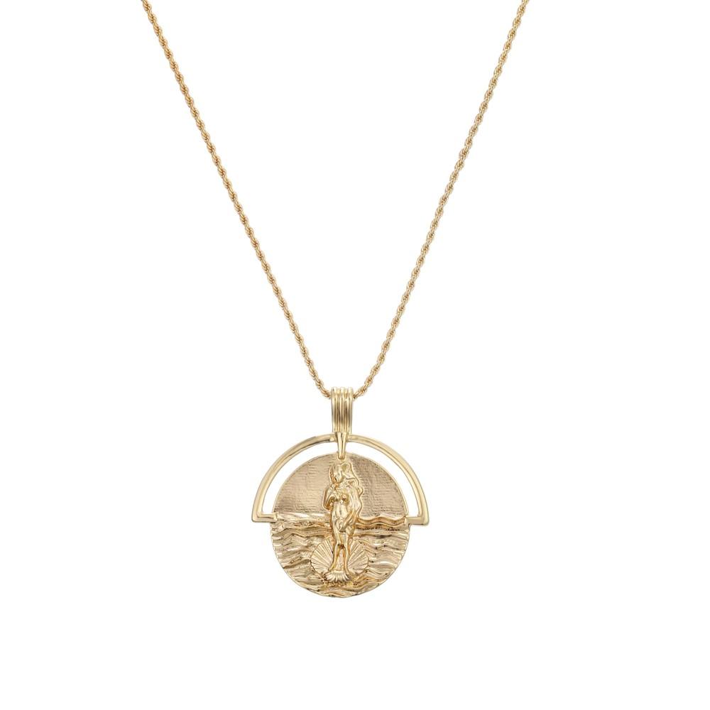 Celeste Starre Zeus Necklace Gold
