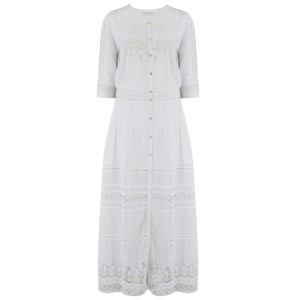 LoveShackFancy Beth Dress in White - PRE ORDER ARRIVING MID JULY