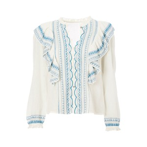 Mabe Allie Frill Blouse