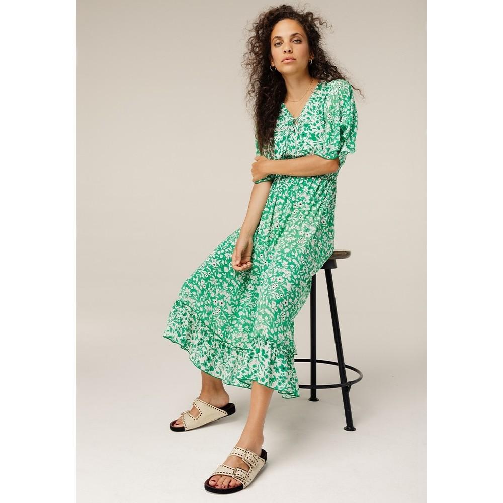 Lily & Lionel Marlowe Dress in Green Green