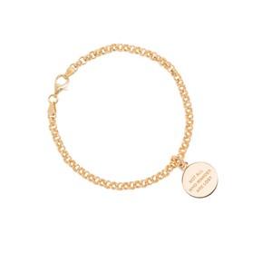 Tilly Sveaas Gold Belcher Compass Bracelet