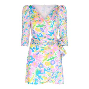 Olivia Rubin Ren Dress in Neon Floral