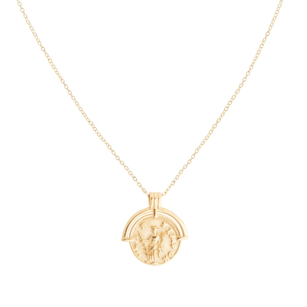 Shashi Armor Necklace in Gold Gold