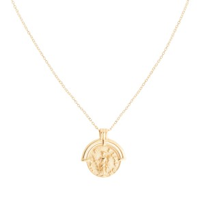 Shashi Armor Necklace in Gold