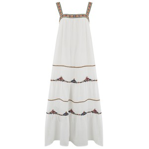 Velvet Winifred Embroidered Dress