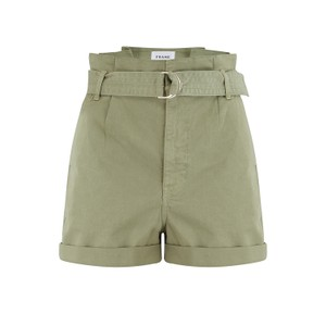 Frame Denim Safari Belted Shorts