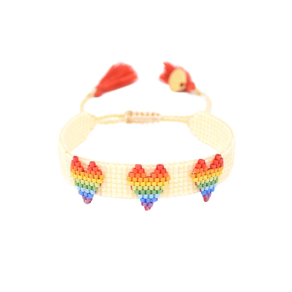 Mishky Rainbow Love Bracelet Multicoloured