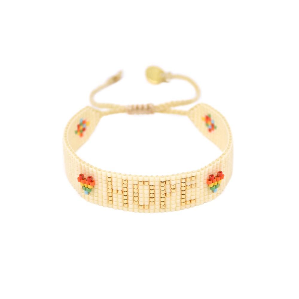 Mishky Rainbow Hope Bracelet Multicoloured