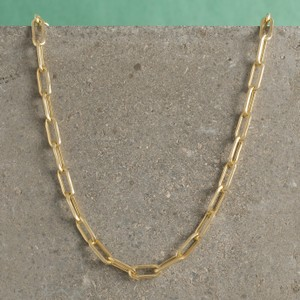 Loel & Co Jewellery Gold Long Link Chain Necklace