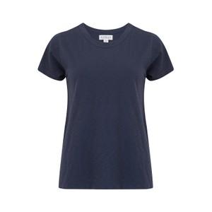 Velvet Tressa Round Neck T-Shirt in Ink