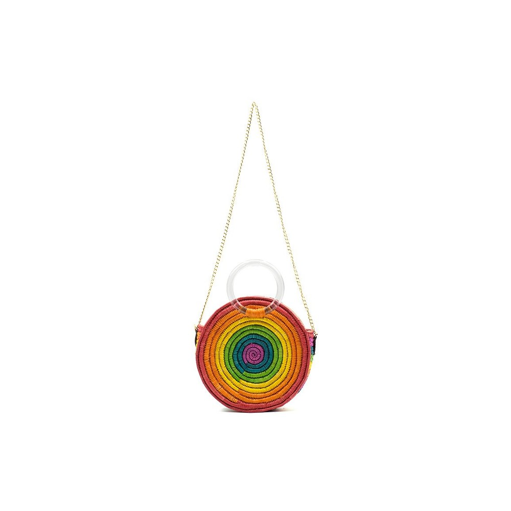 Poolside The Brighton Bag in Rainbow Multicoloured