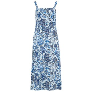 Velvet Raya Cotton Voile Dress in Juniper