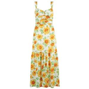 Bec and Bridge Francine Silk Midi Dress