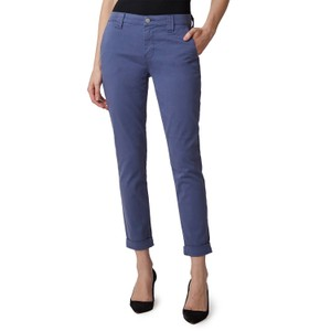 J Brand Paz Slim Taper Trousers in Grey in Blue