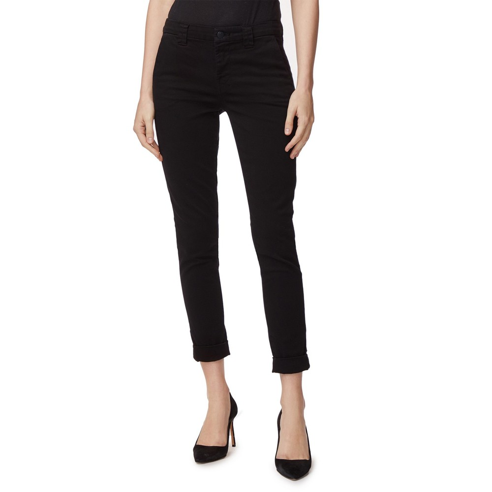 J Brand Paz Slim Taper Trousers in Black Black
