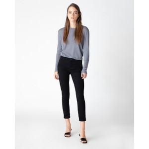 J Brand Paz Slim Taper Trousers in Black