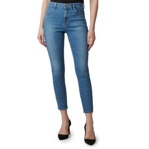J Brand Alana High Rise Crop Skinny Jeans in Pioneer