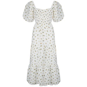 Faithfull The Brand Gianni Midi Dress in Carrie Floral Print