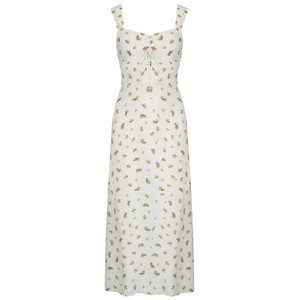 Faithfull The Brand Maeve Midi Dress in Carrie Floral Print