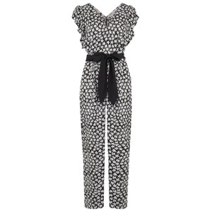 Rebecca Taylor Sleeveless Star Flower Jumpsuit
