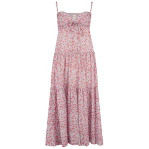 Rebecca Taylor La Vie Sleeveless Eva Floral Dress