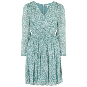Rebecca Taylor Long Sleeve Star Smock Dress