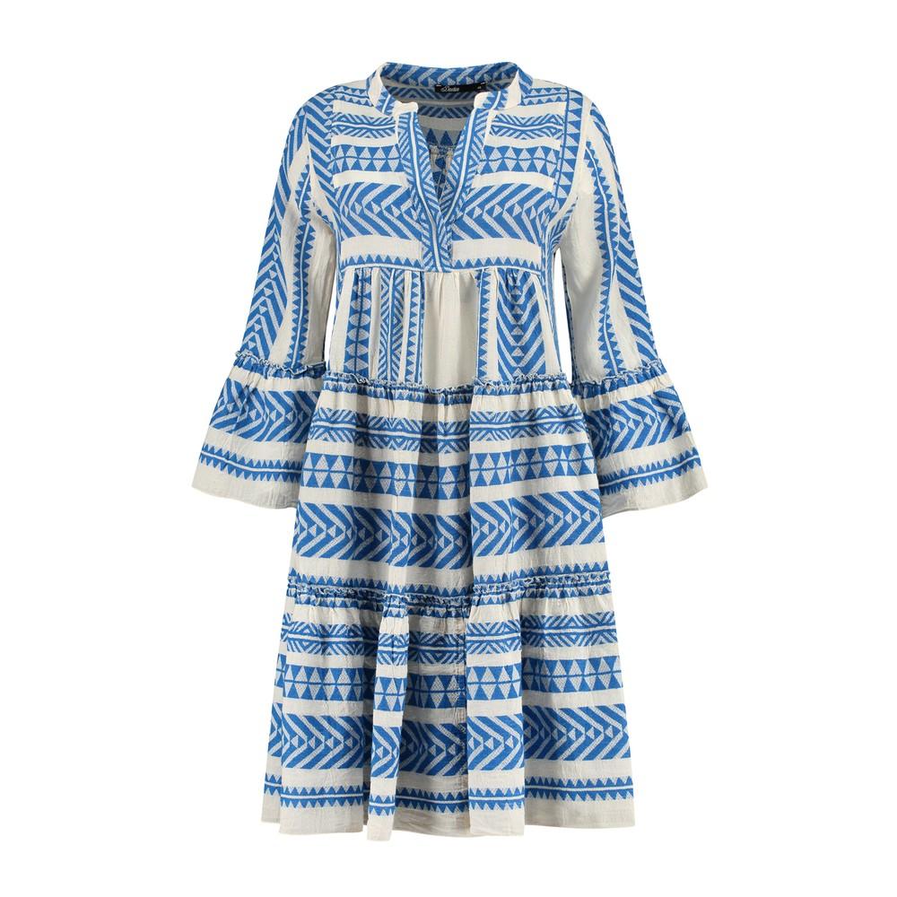 Devotion Knee Length Ella Dress Blue