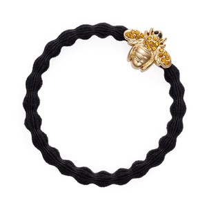By Eloise Bling Bee Hair Bands in Black