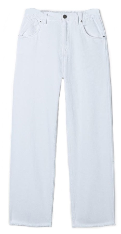 American Vintage Tine White Jeans White