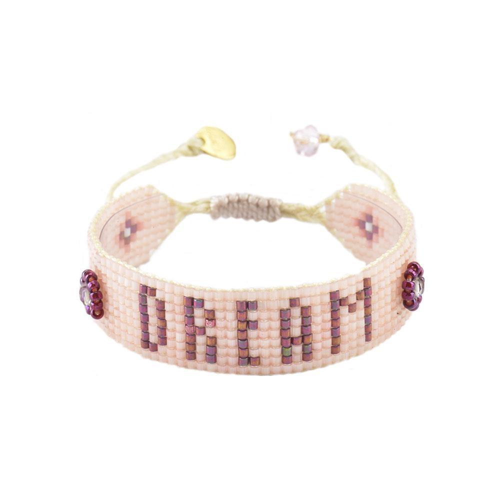Mishky Dream Bracelet in Pink Pale Pink