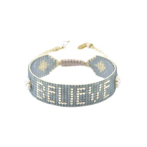 Mishky Believe Bracelet in Blue