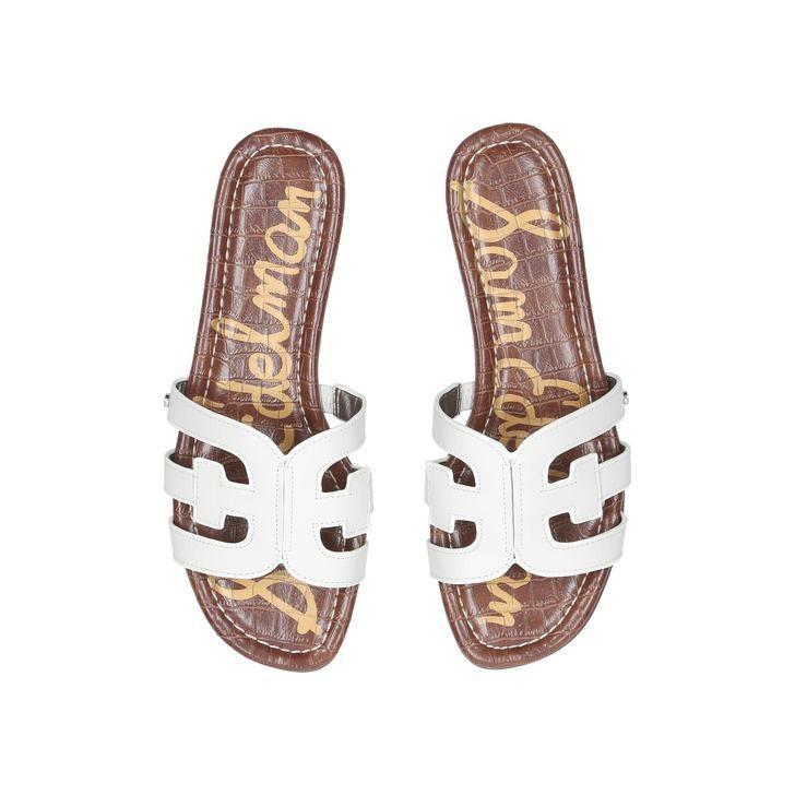 Sam Edelman Bay Leather Sandals White