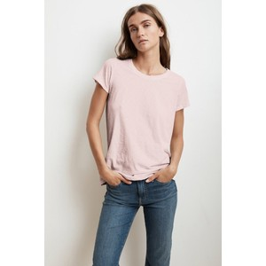 Velvet Tressa Round Neck T-Shirt in Bubble