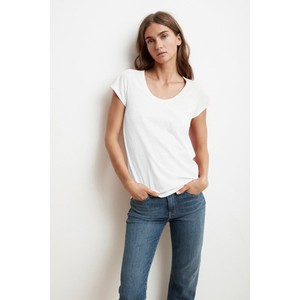 Velvet Katie Scoop Neck T-Shirt