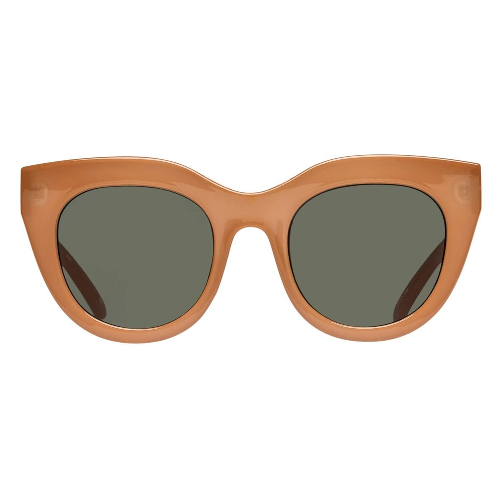 Le Specs Air Heart in Camel Camel