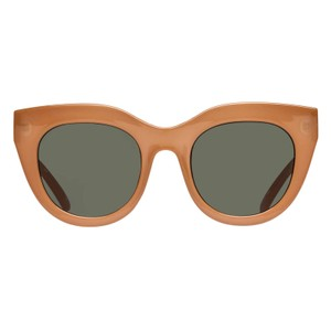 Le Specs Air Heart in Camel