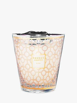 Baobab Collection Collection Max 16 Woman Scented Jar Candle White