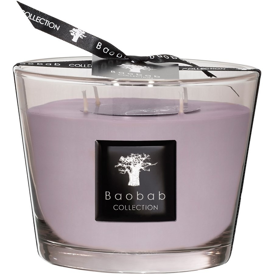 Baobab Collection Collection Max 10 White Rhino Luster Candle White