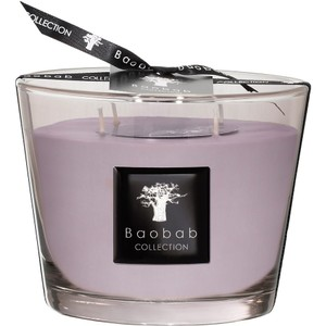 Baobab Collection Collection Max 10 White Rhino Luster Candle