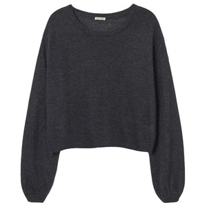 American Vintage Mitibird Jumper in Light Grey in Grey