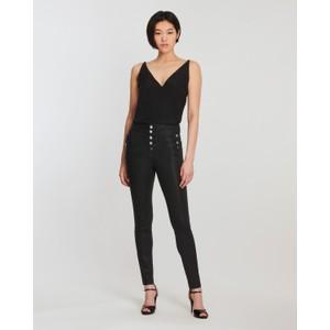 J Brand Natasha Sky High Skinny in Leatherette