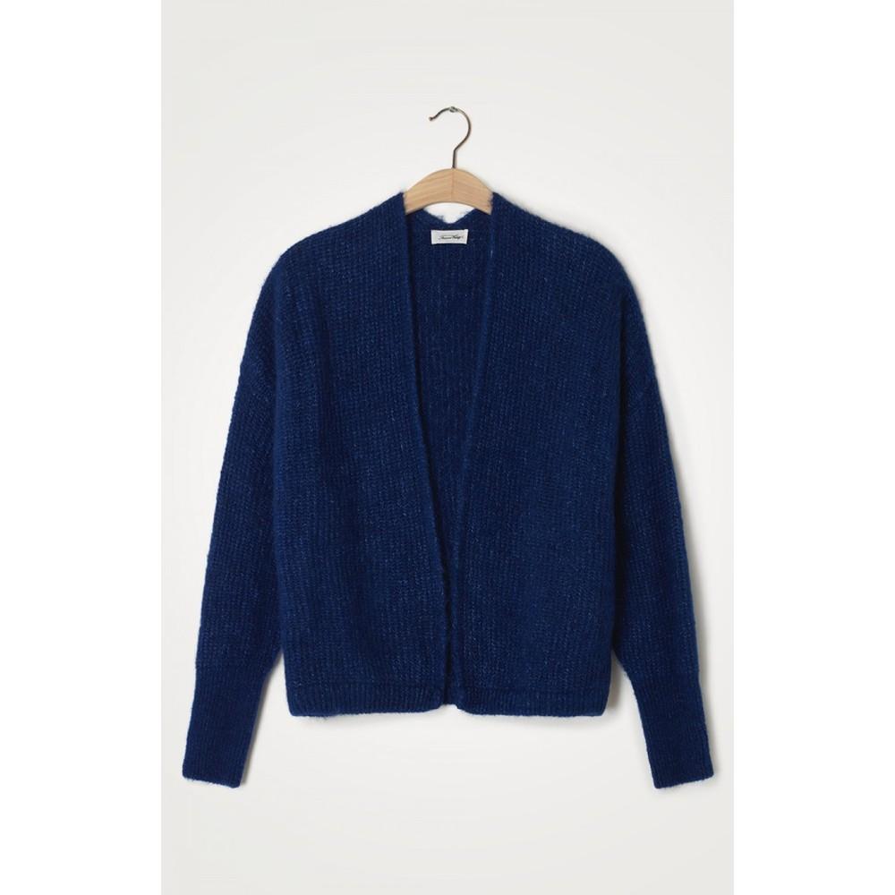American Vintage East Cardigan in Royal Blue Bright Blue