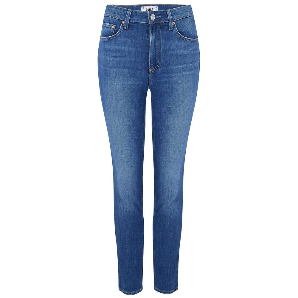 Paige Sarah Slim Jeans in Trail Mid Denim