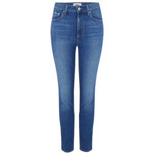 Paige Sarah Slim Jeans in Roadhouse in Mid Denim
