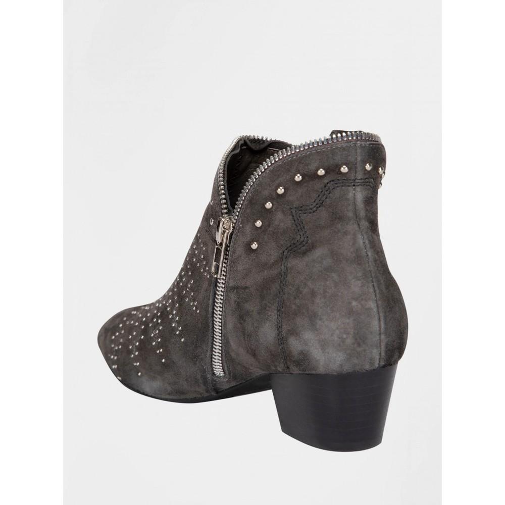 Sofie Schnoor Studded Boots Grey