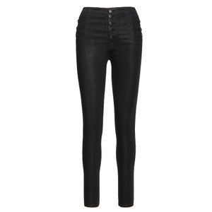 J Brand Natasha Sky High Skinny in Leatherette