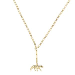 Celeste Starre Black Jag Necklace