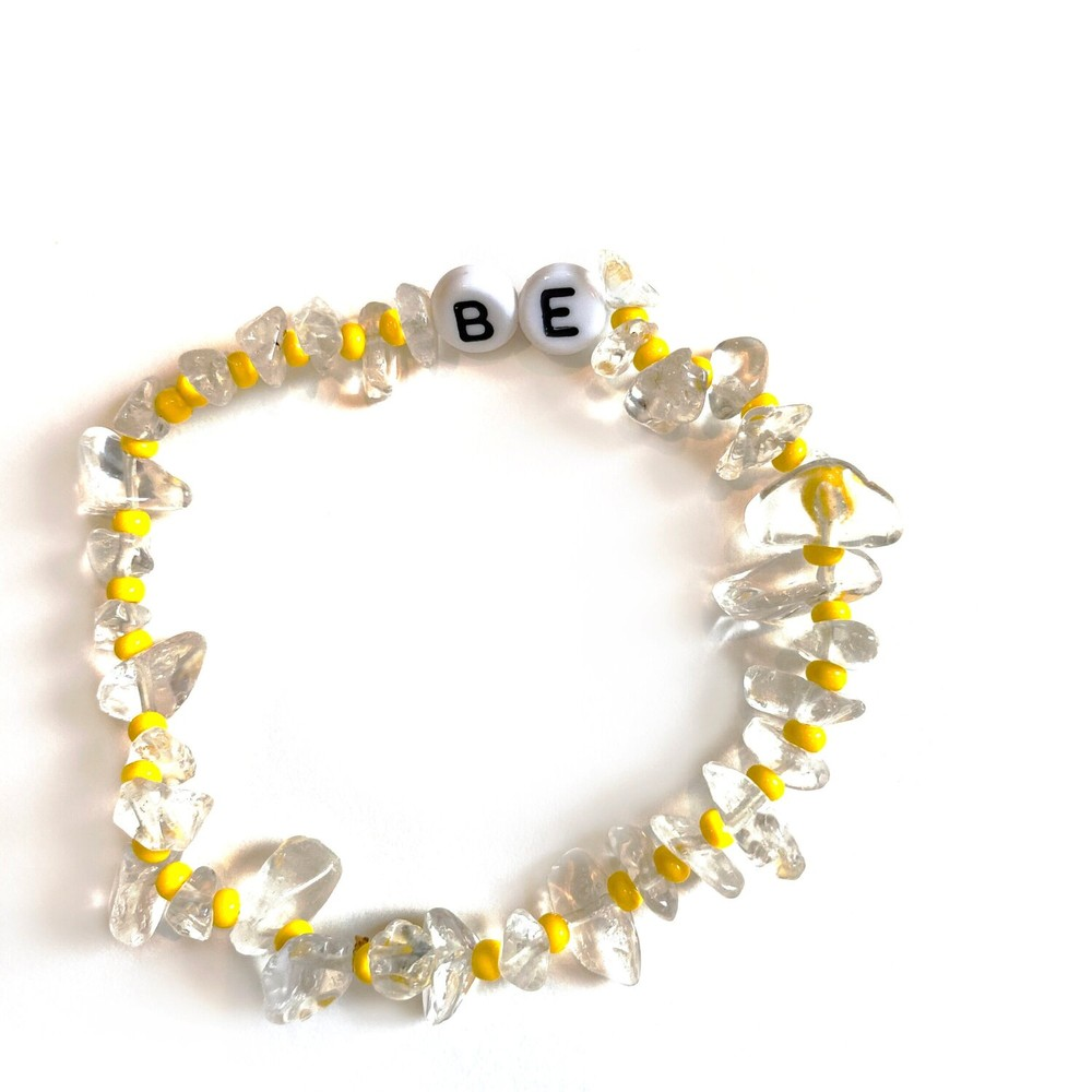 TBalance Be Crystal Healing Bracelet Yellow