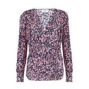 Berenice Tory Blouse in Pink Pop Print